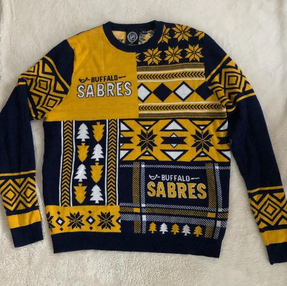 the best attitude dd911 062e2 NHL Buffalo Sabres Ugly Sweater